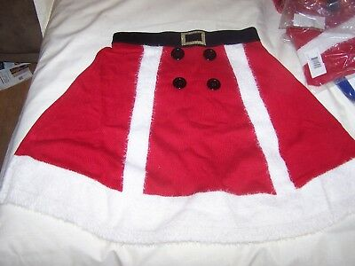 Mrs Claus Skirt (NIP Ladies Sexy Mrs Clause Christmas Circle Skirt Size S Womens by Blizzard)