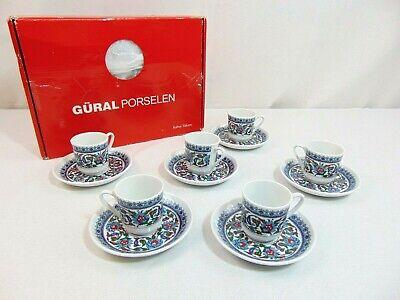 Kahve Tamimi Gural Porselen Turkish Coffee / Tea / Espresso Cup and Saucer Set
