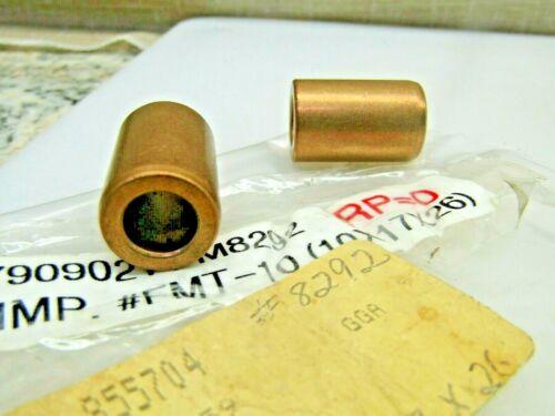 Brass Bronze Bushing FMT-10 10mm X 17mm x 26mm  Lot of 2