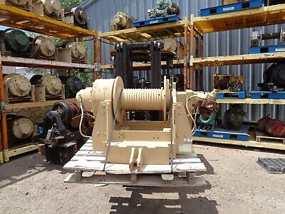 Military Winch 60000 Lb Dp Hydraulic Planetary Serial 25-7-0016 Mod 51022-1