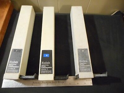 3 Used Kodak Dental Film Dispenser Model 2
