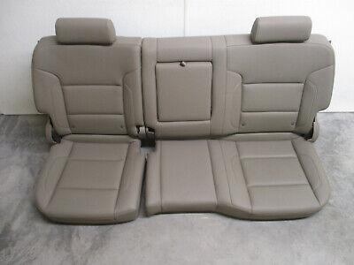 2014-2018 CHEVROLET SILVERADO CREW CAB DUNE LEATHER REAR SEAT NICE!!!