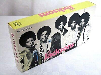 Michael Jackson The Jacksons Official Japan VHS Live London Concert MEGA RARE