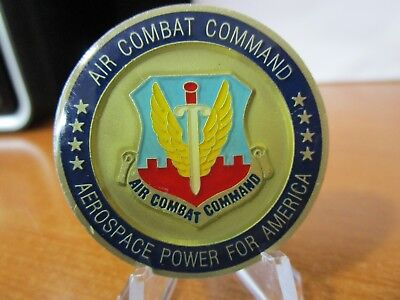 Air Combat Command ACC USAF Chief Master Sergeant Challenge Coin #6499