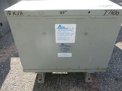 Acme T-3-53341-1s 15 Kva 3 480 X 240120 Volt Transformer- Ns T1600