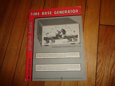 Archer Time Base Generator Project-board Manual Book