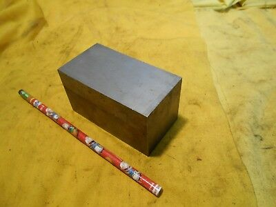 P20 Mold Steel Bar Stock Tool Die Shop Flat P-20 Plate 1 78 X 2 X 3 34 Oal