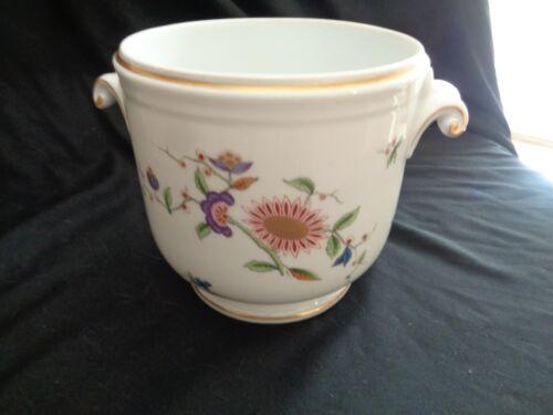 Vintage Richard Ginori Oriente Floral Pattern Cache Pot