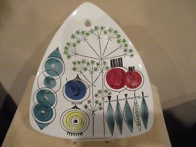 Vtg Rorstrand Sweden PickNick Cutting Board/Wall Art by Marianne Westman/1950