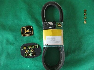 New Oem John Deere Combine Mini Excavator Ac Belt H81742  Models Below