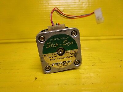 Sanyo Denki Step-Syn 103H6704-5040 Stepping Motor 2A