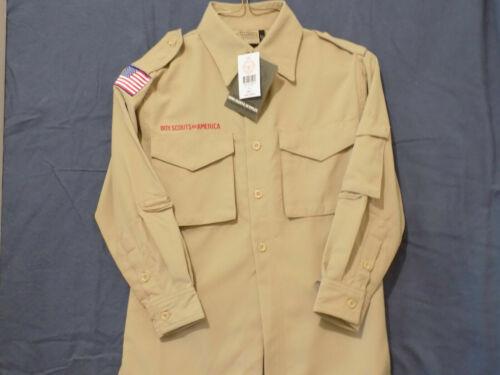 Boy Scout BSA Official Uniform Shirt New NWT Youth Small YS S Webelos AOL