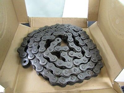 Link Belt 100 Roller Chain 100 Ptc 1-14 Pitch Riveted 10 Feet