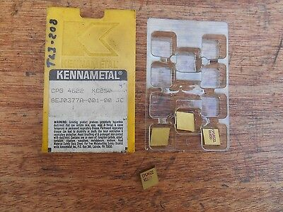 Kennametal CPG4622 KC850 carbide inserts (4)