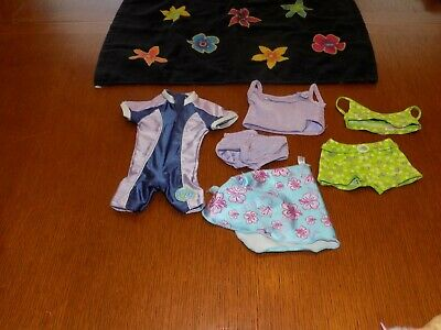 American Girl Swimsuits lot of 3