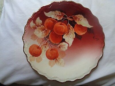 Limoges France Coronet Signed By Artist Collector Plate