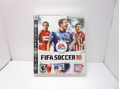 PS3 FIFA Soccer 10 Video Game Playstation Network Online Multiplayer Action (Multiplayer Action)