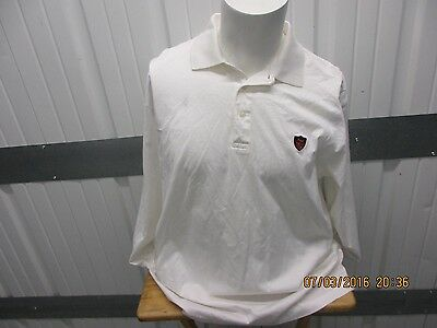POLO GOLF BY RALPH LAUREN EXTRA-LARGE SEWN LONG SLEEVE WHITE