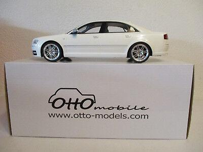 Audi S8 D3 in weiß  Limitiert 999 Stück  OTTOmobile 699  Maßstab 1:18  NEU