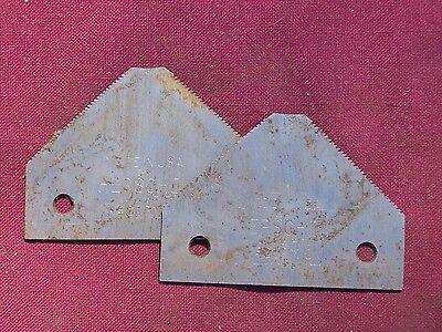2 Vintage Mcormic Sickle Bar Mower Blades