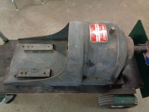 """Link Belt gear speed reducer Size BDB3-55 Ratio 17.1:1 """"Used"""" 1.5 hp (See pic"""