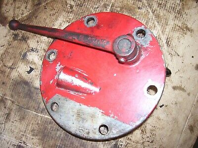 Vintage Ford 850 Gas Tractor - Pto Engage Lever Hyd Cover- 1955