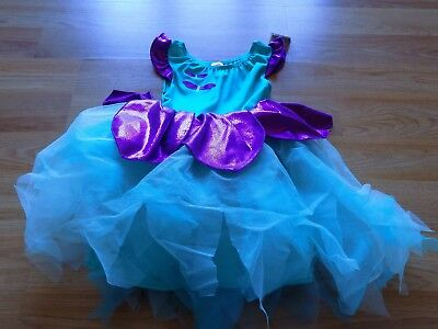 Size 5-6 Gymboree Dragonfly Fairy Halloween Costume Tutu Dress Turquoise - Dragonfly Kostüm