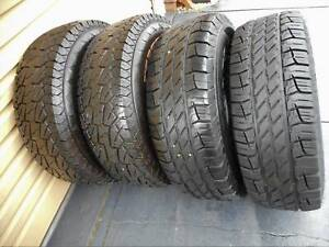 4x4 Tyres and Rims for sale