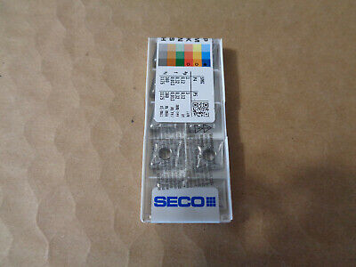 Factory Sealed 10 Pcs Seco Cnmg432-m5 Tp2501 Carbide Inserts Cnmg120408-m5