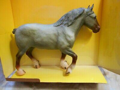 Breyer Draft Percheron Stallion Sebastian Grey New Horse, used box