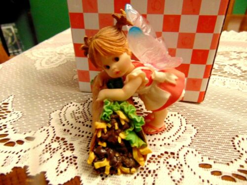 "2009 Enesco My Little Kitchen Fairies "" Taco Fairie "" IOB"