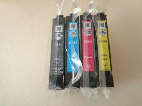 Epson 288 Ink Set of 4 CMYK NEW OEM Sealed Genuine 288i XP 330 340 430 434 440
