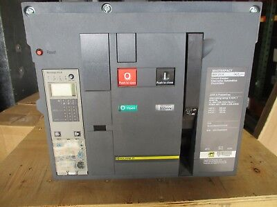 Square D Nw25h 2500 Amp 600v Circuit Breaker- Warranty With Test Report