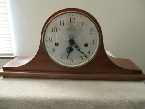 Hamilton Franz Hermle 340-020 2 jewel Mantle Clock-Works  With Key!