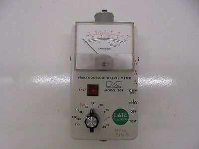 Ird Mechanalysis 308 Vibration Sound Level Meter. Br
