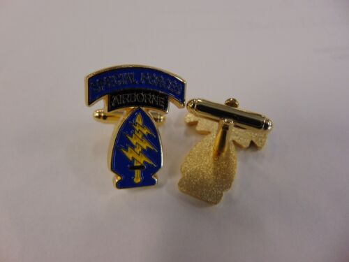 SPECIAL FORCES SSI SFG AIRBORNE Army Cuff Links   cufflinks   New