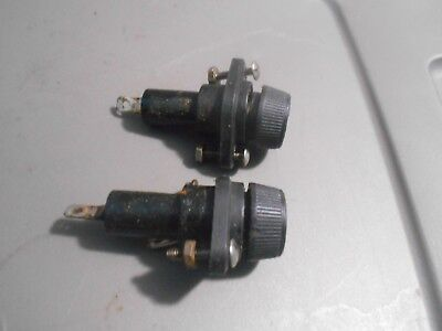 Lot Of 2 Giles Mgf-40 Fryer Fuses And Fuse Holders