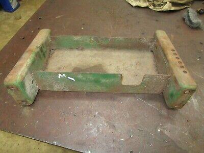 John Deere M Original Seat Frame Base Tool Box  Antique Tractor