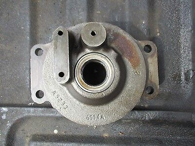 1957 Case 400 Gas Farm Tractor Pto Shaft Housing Flange Free Shipping