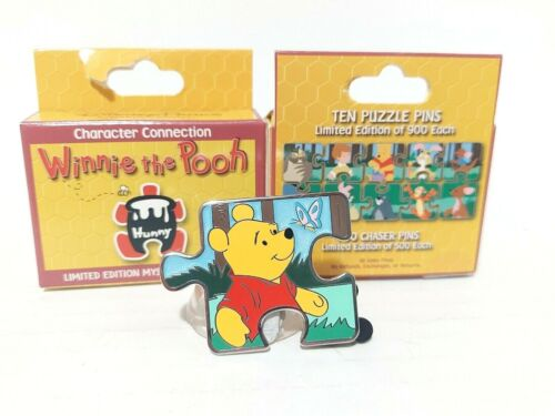 Winnie the Pooh Bear CHASER CHASE Disney Parks Blind Box Mystery Puzzle Pin LE