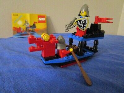Vintage (1990) LEGO Castle Black Knights set 6018 Battle Dragon - VERY RARE