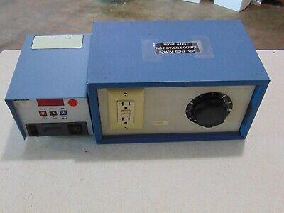 Variable Regulated Ac Power Source Variac 0-140 V 15 Amp With Digital Wattmeter
