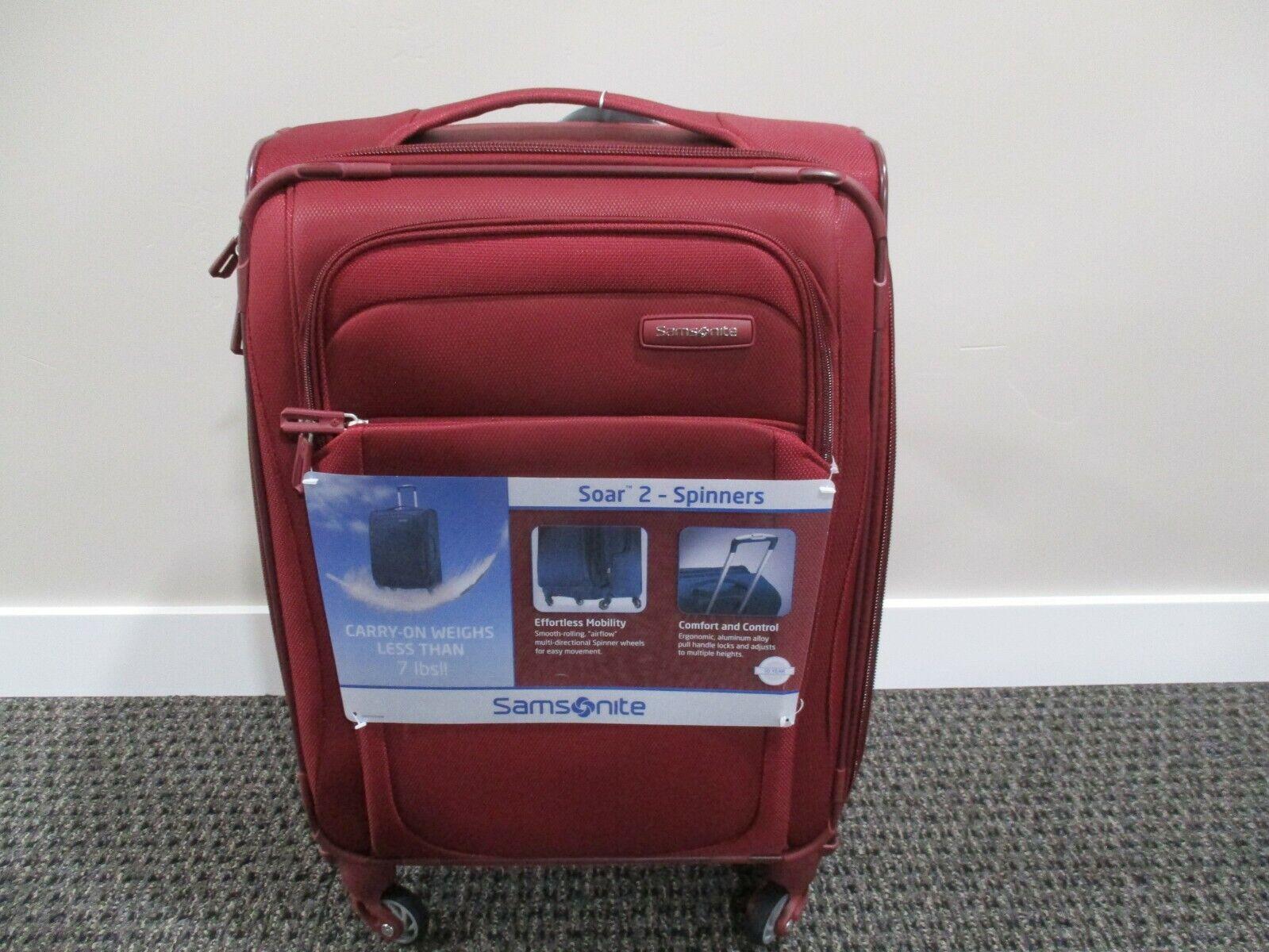 "BNWT Samsonite Luggage, Soar 2 21"" soft case/Ziplite 4 Hards"