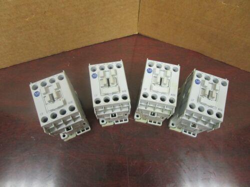LOT OF 4 ALLEN BRADLEY CONTACTOR 700-CF400 SER A 25A AMP 120V COIL 700CF400