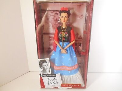 Frida Kahlo Doll Barbie® Inspiring Women™ Series 2018 - Factory Sealed - In Hand
