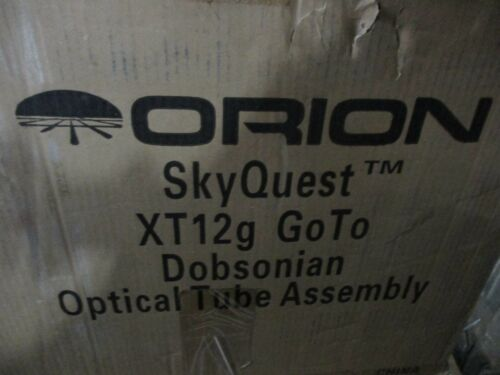 Orion 10136 SkyQuest XT12g GoTo Dobsonian Telescope OPTICAL TUBE ONLY