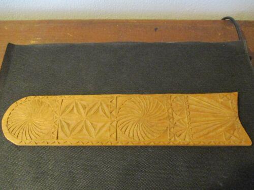 1786 Scrimshaw Hand Carved Wooden Busk Abby Glasier Ipswich Massachusetts