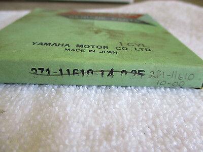 <em>YAMAHA</em> OEM NEW 025MM OS PISTON RINGS 2F1 11610 10 00 TX500 XS500  59