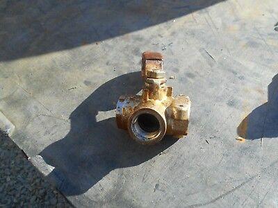 Giles Cf-400 Fryer  Oil Shut Off Valve