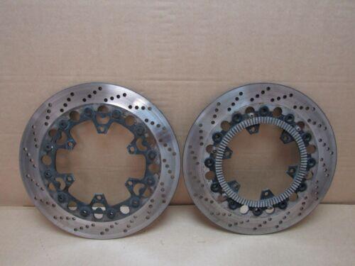 BMW K100RS 16V 1991 18,238 miles front brake discs pair (2848)